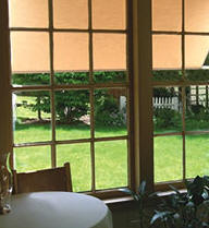 Window Awning from inside your home